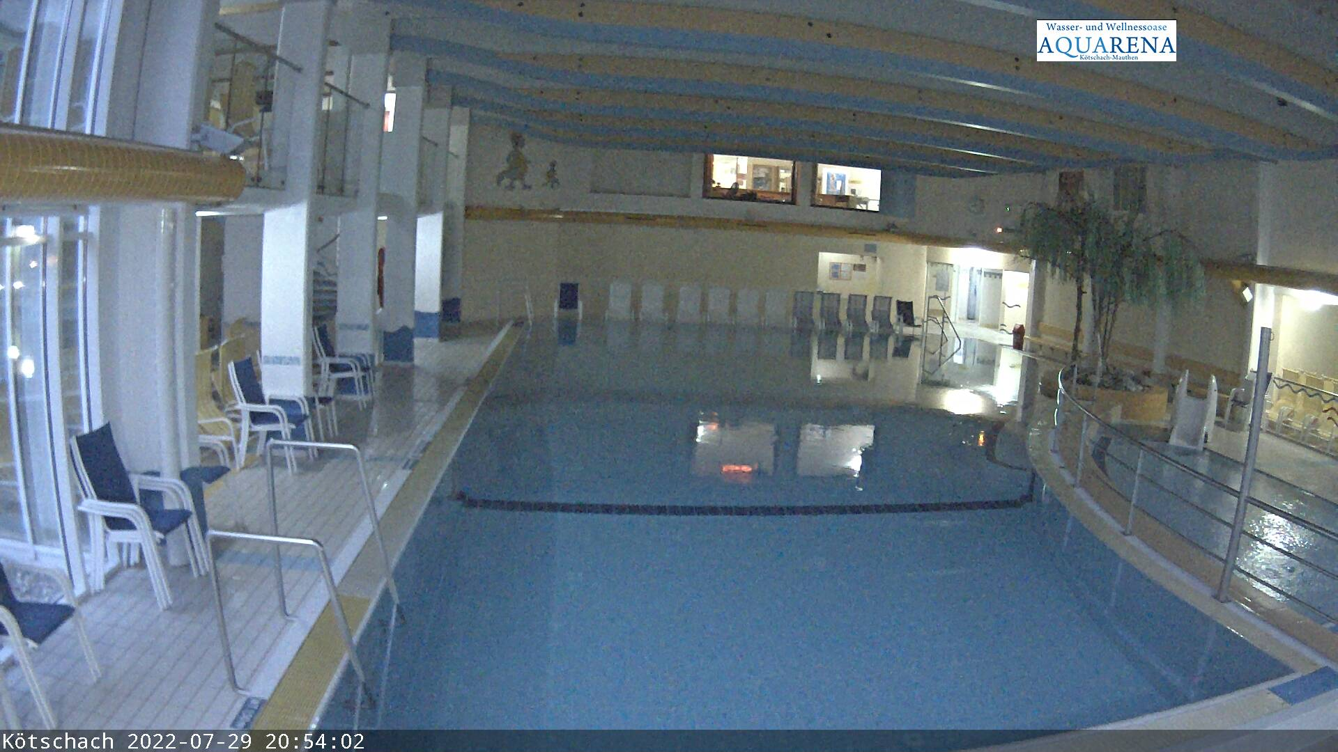 Aquarena-Webcam Hallenansicht