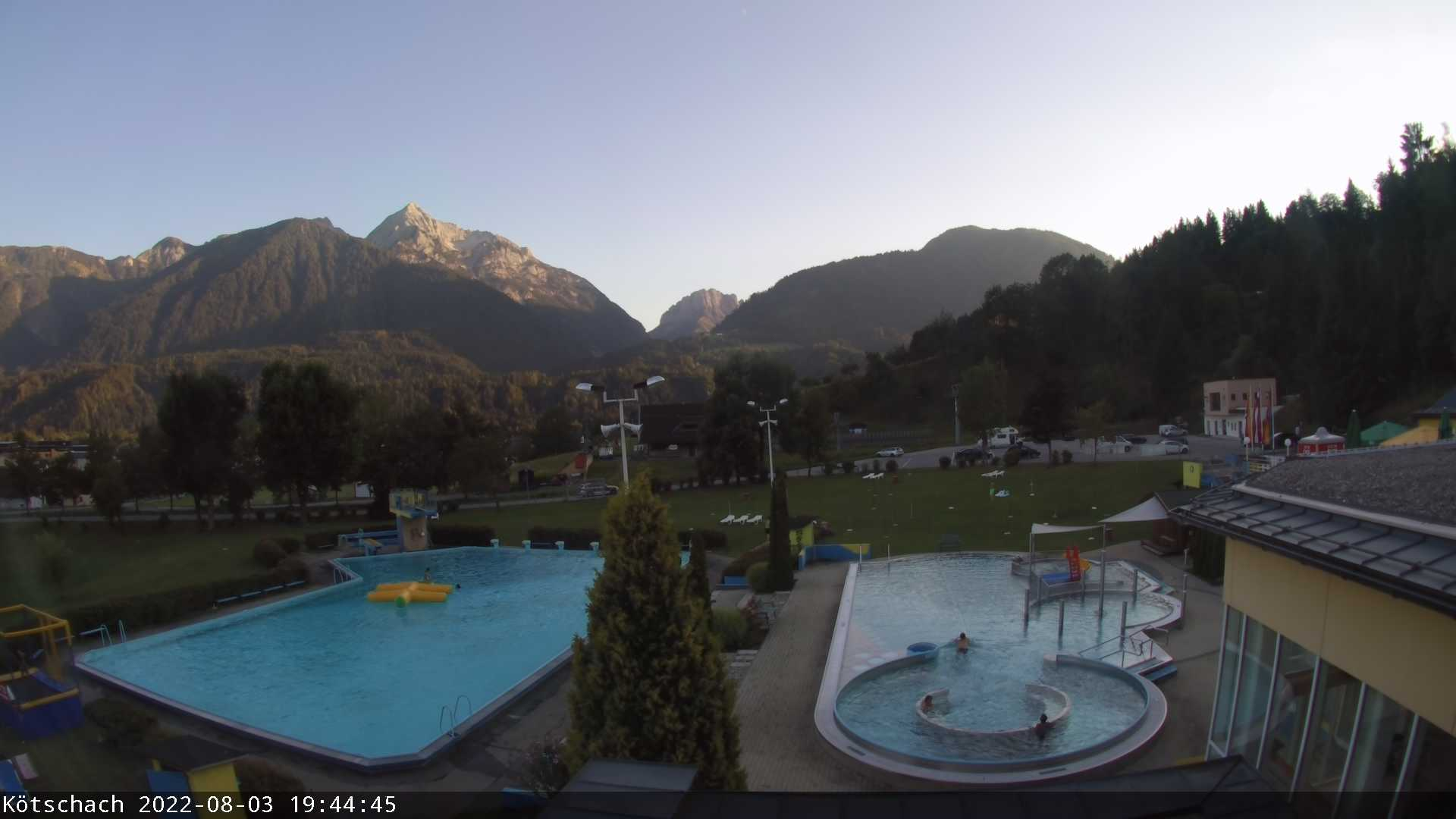 Aquarena-Webcam Aussenansicht
